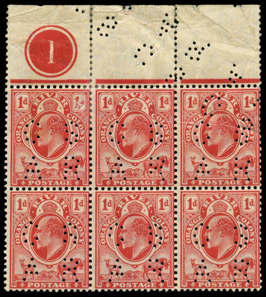 ORANGE FREE STATE 1907  SGRO16 Official