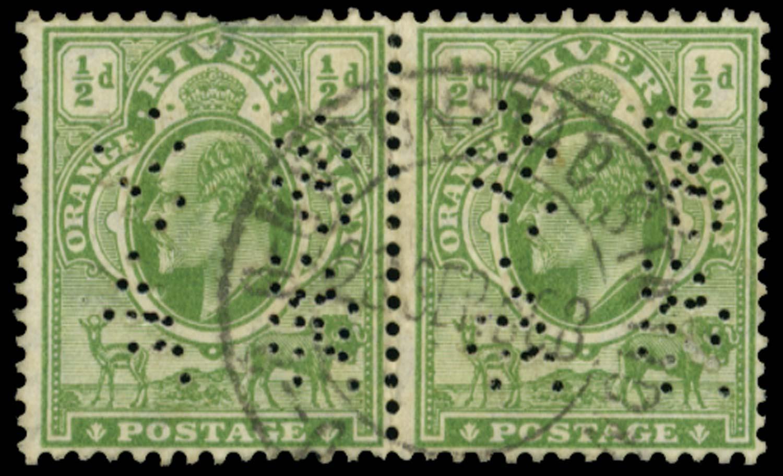 ORANGE FREE STATE 1907  SGRO15 Official