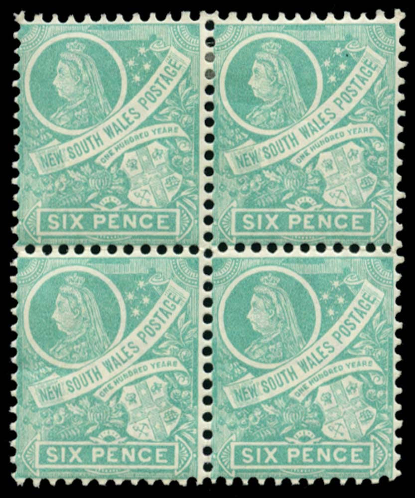 NEW SOUTH WALES 1898  SG297fb Mint