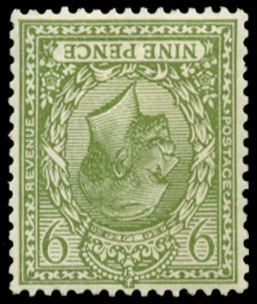GB 1922  SG393awi Mint