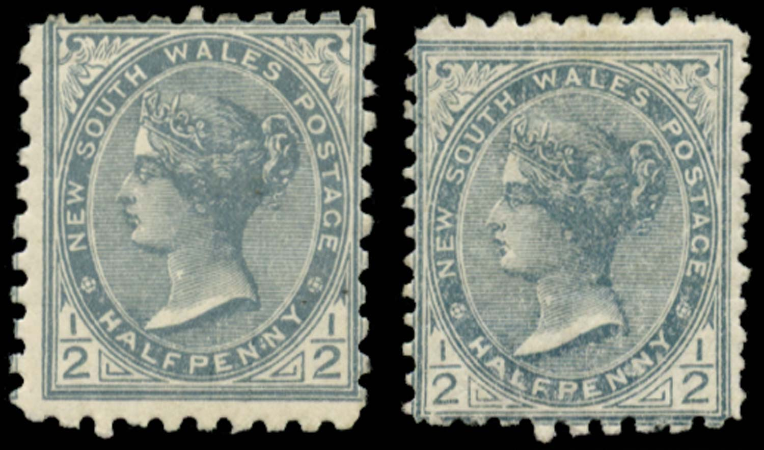 NEW SOUTH WALES 1892  SG271/b Mint