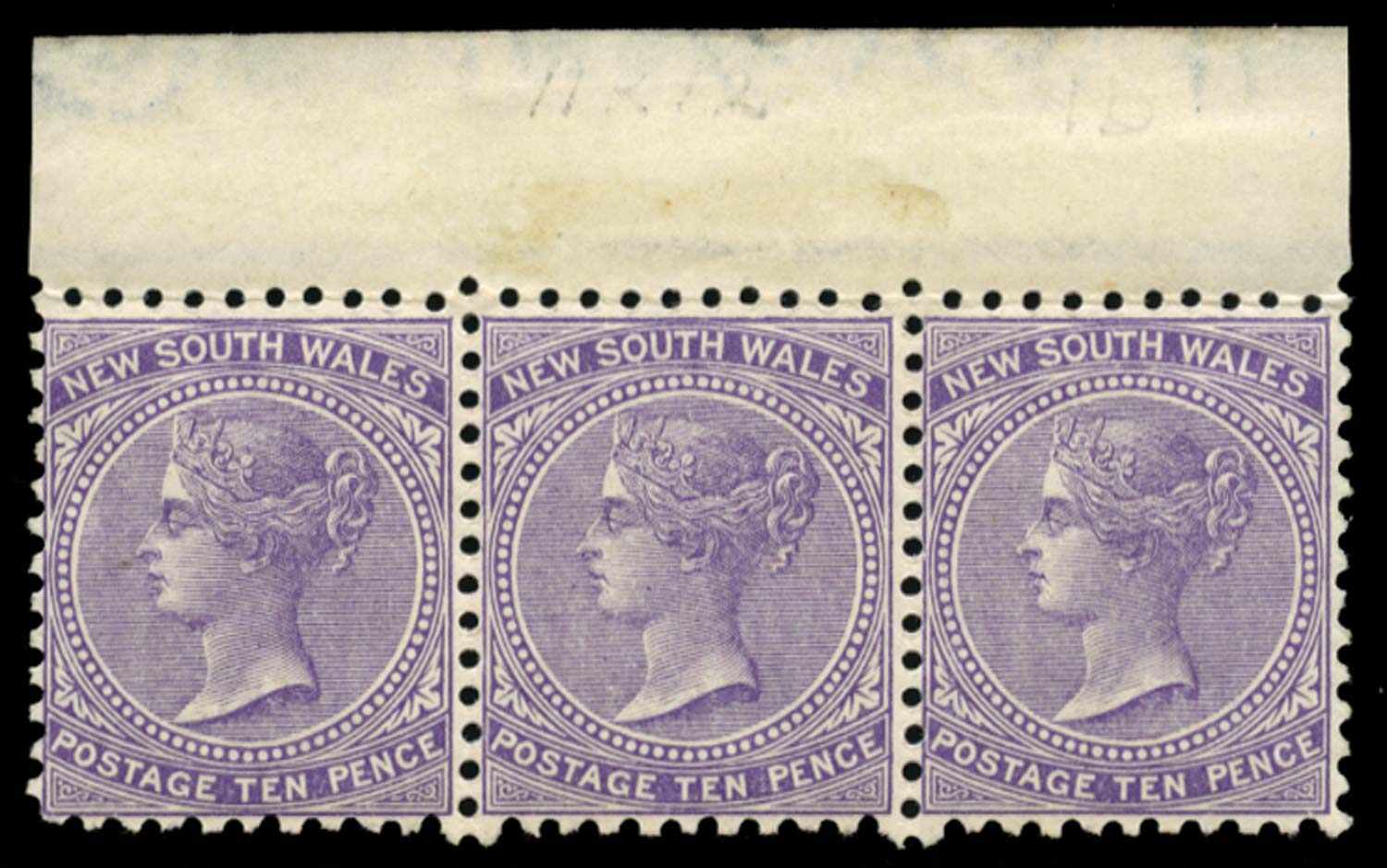 NEW SOUTH WALES 1882  SG236e Mint