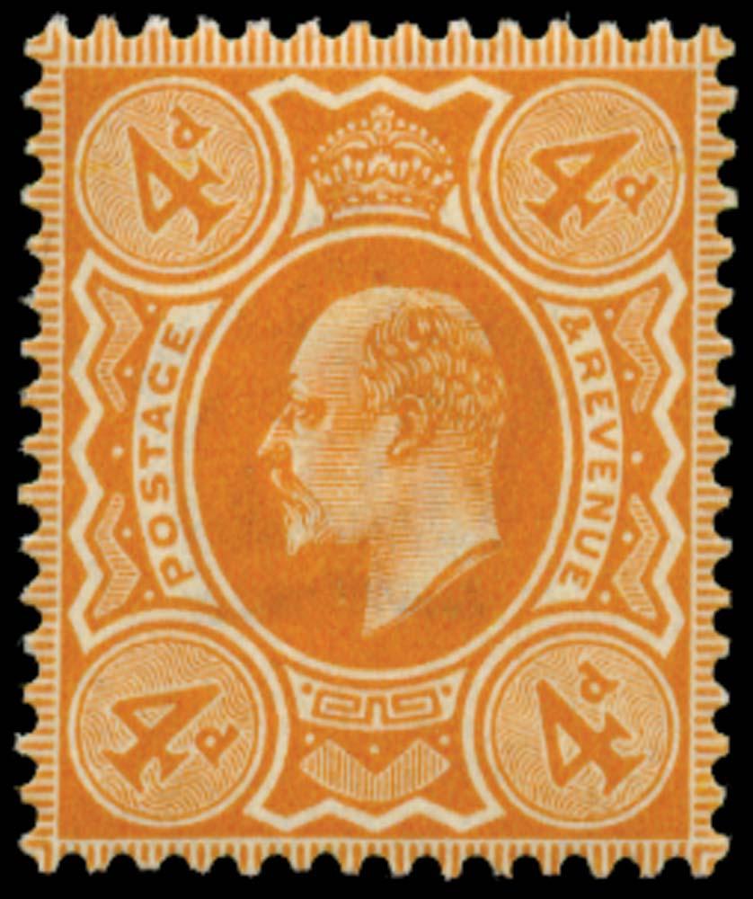 GB 1909  SG240 Mint