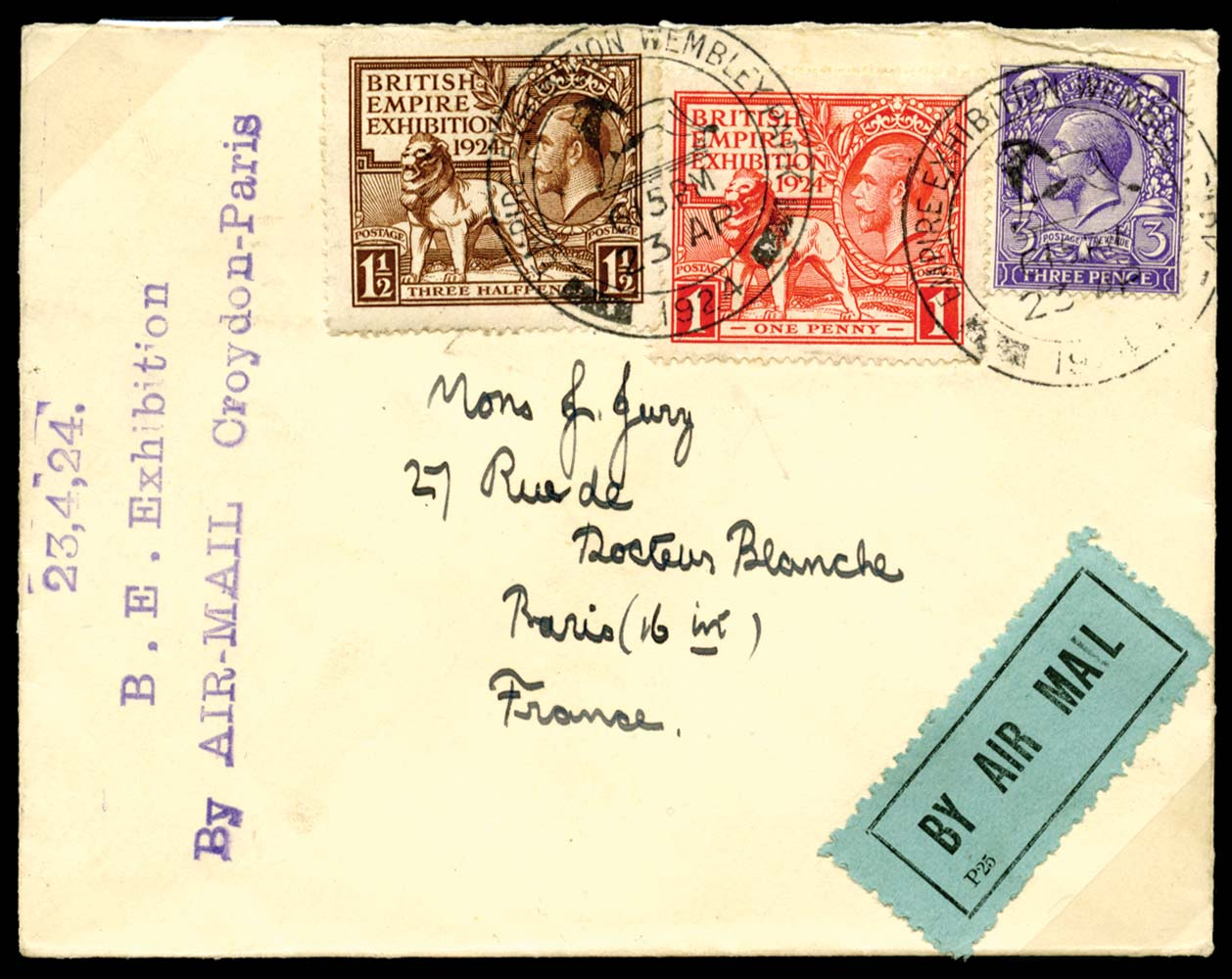 GB 1924  SG430/1 Cover - First Day of Issue