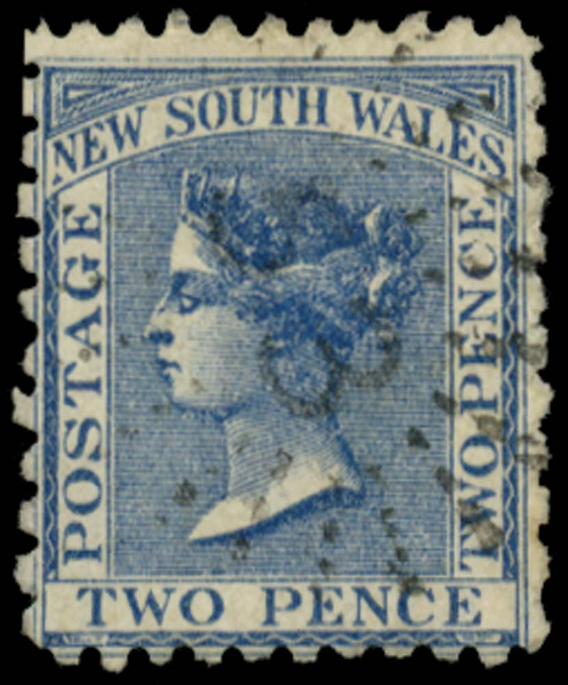 NEW SOUTH WALES 1882  SG225f Used