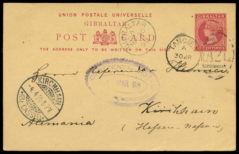 MOROCCO AGENCIES 1898 Cover