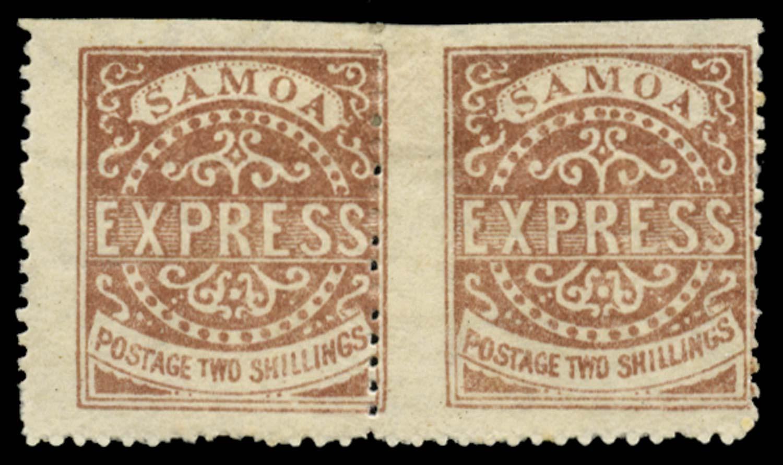 SAMOA 1877  SG8 Mint