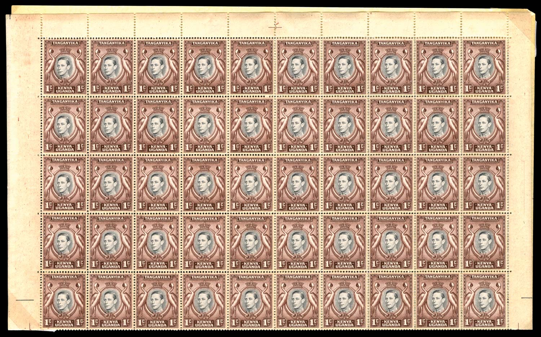 KUT 1938  SG131a/ab/ae Mint