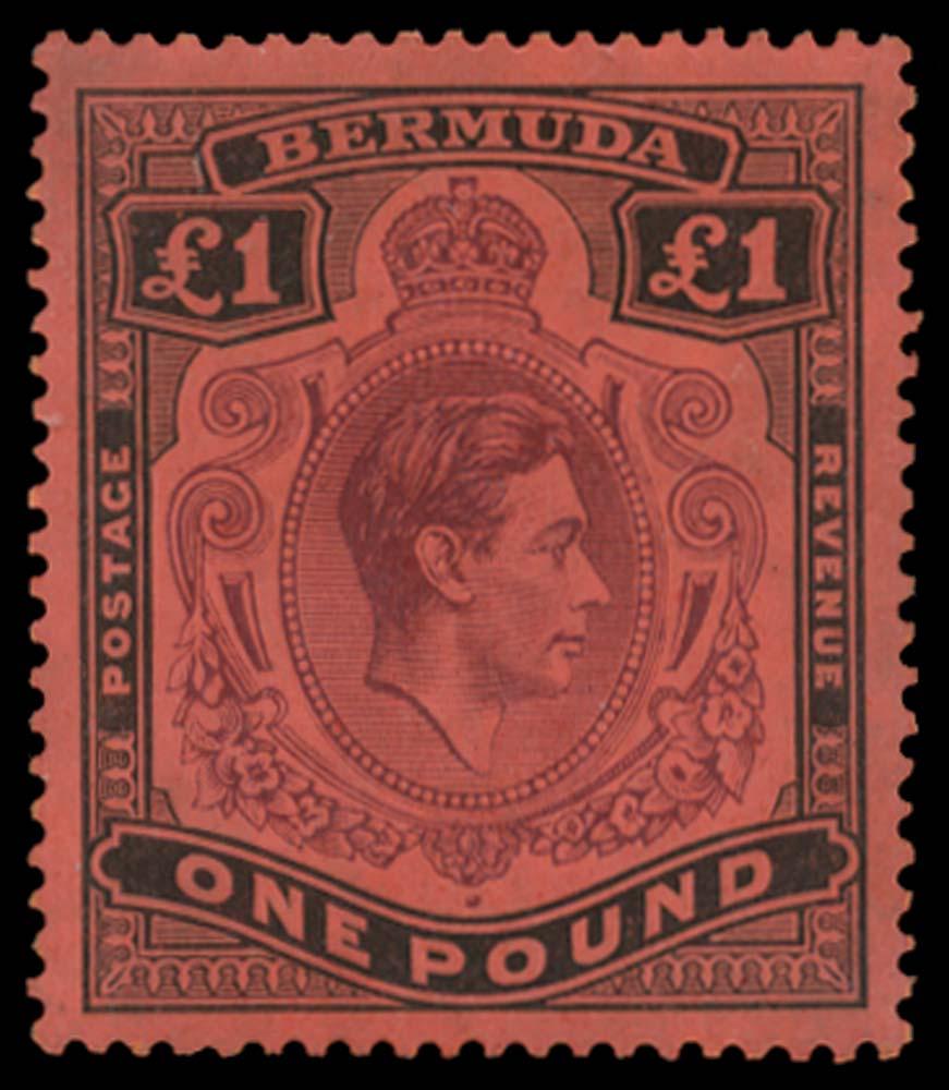 BERMUDA 1938  SG121 Mint
