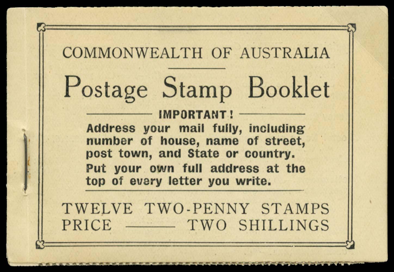 AUSTRALIA 1934  SGSB26b Booklet