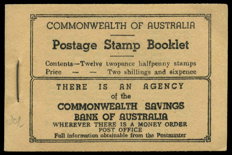 AUSTRALIA 1942  SGSB28 Booklet