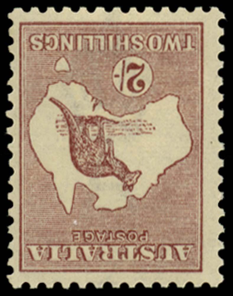 AUSTRALIA 1923  SG74w Mint