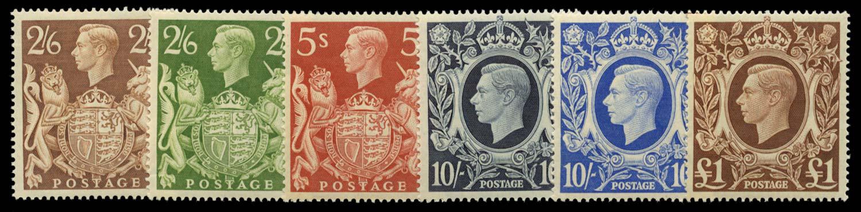 GB 1939  SG476/8c Mint