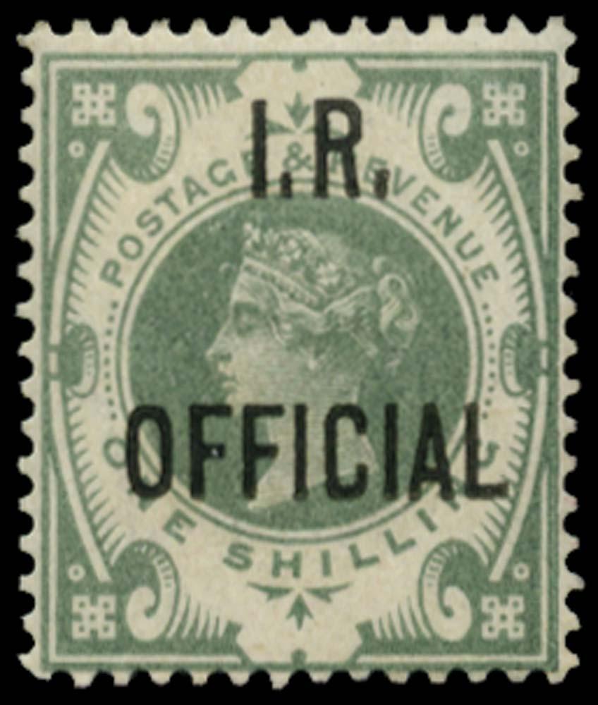 GB 1889  SGO15 Official