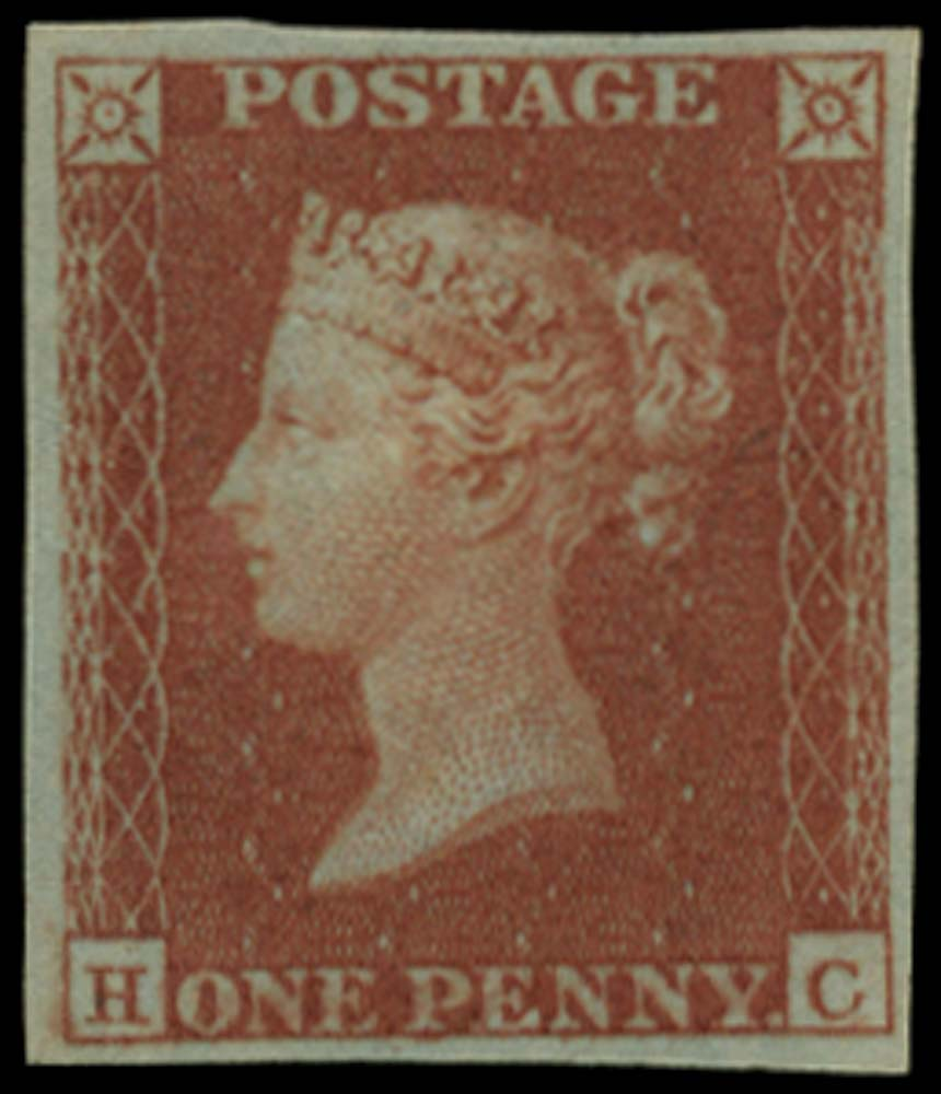 GB 1841  SG8 Pl.176 Mint example lettered HC