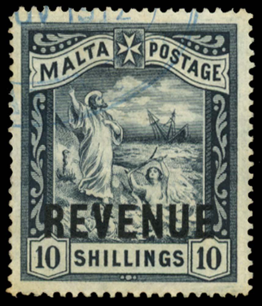 MALTA 1902 Revenue