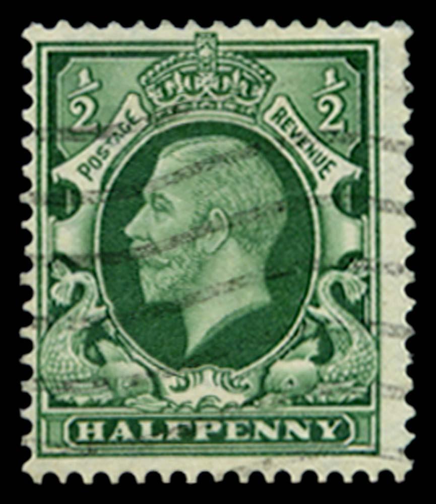 GB 1934  SG439awi Used - Wmk. Sideways-inverted