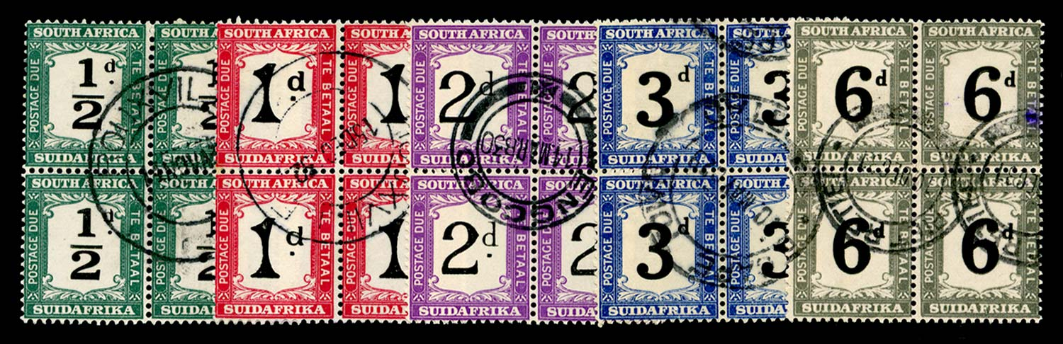 SOUTH AFRICA 1927  SGD17/a/21 Postage Due