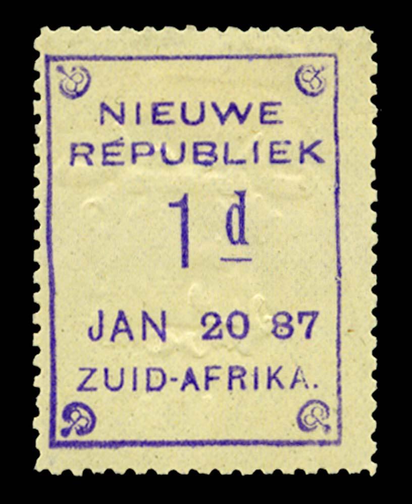 NEW REPUBLIC 1886  SG48a Mint
