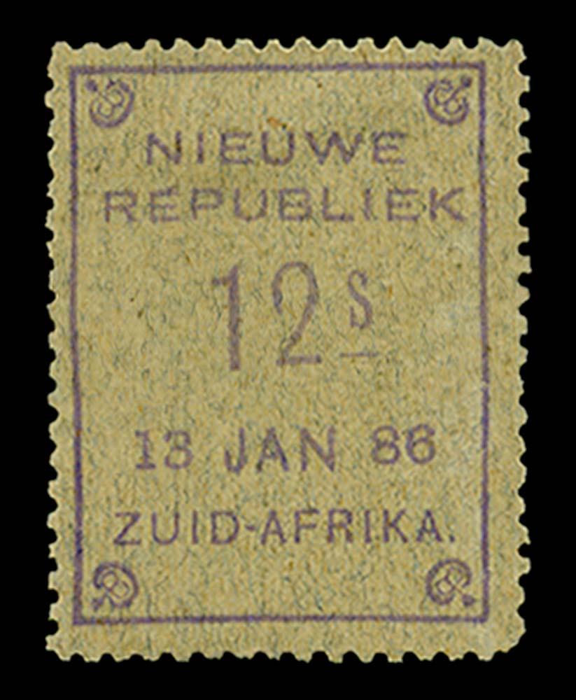 NEW REPUBLIC 1886  SG44 Mint