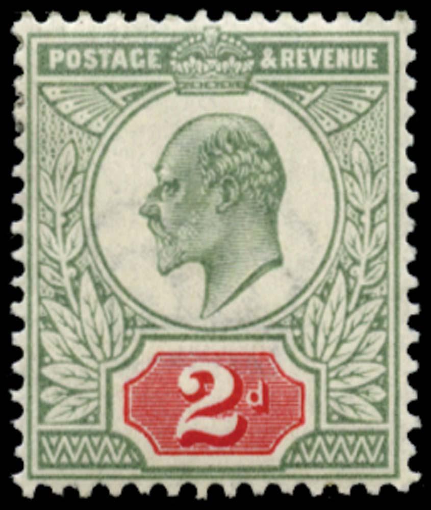 GB 1906  SG227 Mint