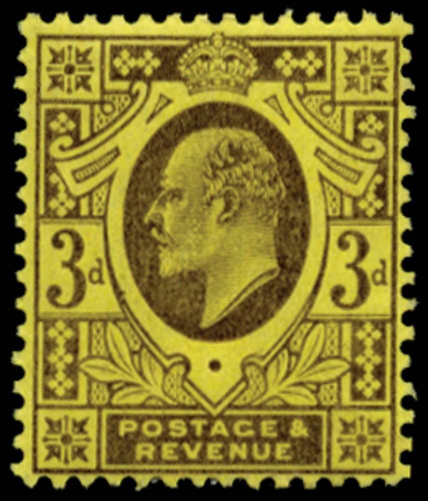 GB 1906  SG234 Mint