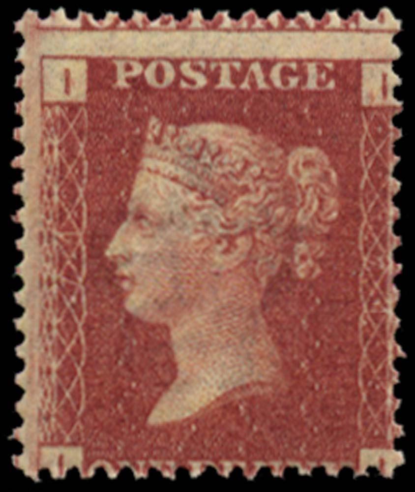 GB 1864  SG43 Pl.74 Mint u/m