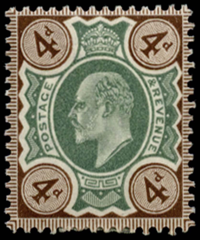GB 1902  SG236 Mint Unused o.g.