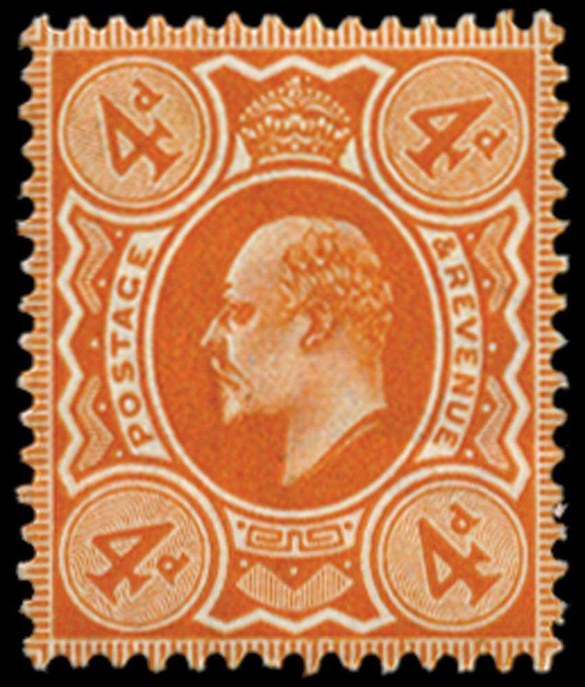GB 1909  SG239 Mint unused o.g.