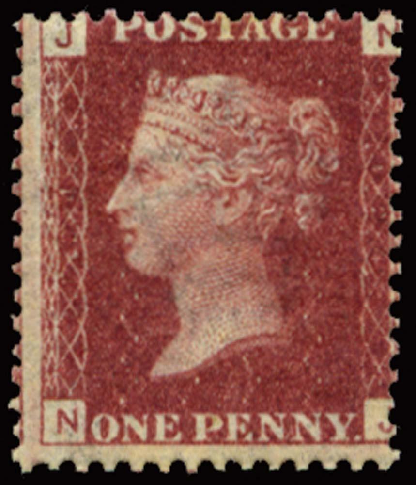 GB 1868  SG43 Pl.124 Mint u/m