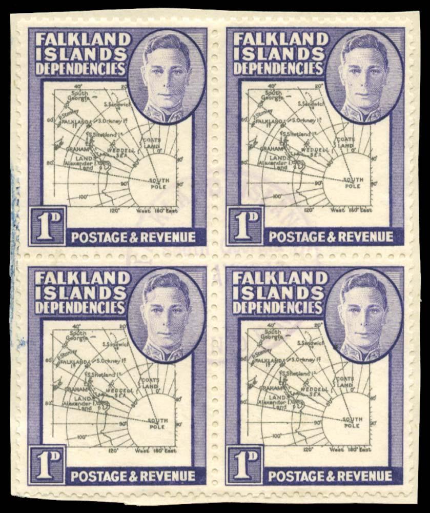 FALKLAND ISLAND DEPS 1946  SGG2/d Used