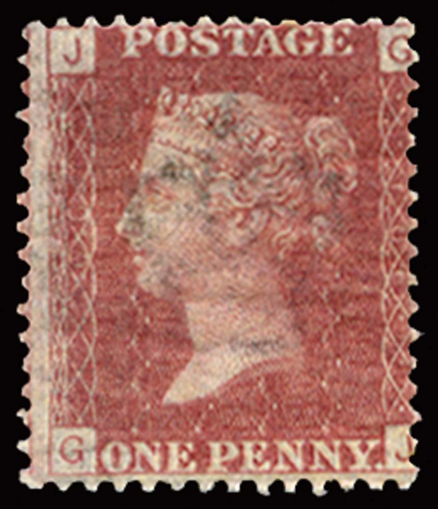 GB 1873  SG43 Pl.166 Mint u/m