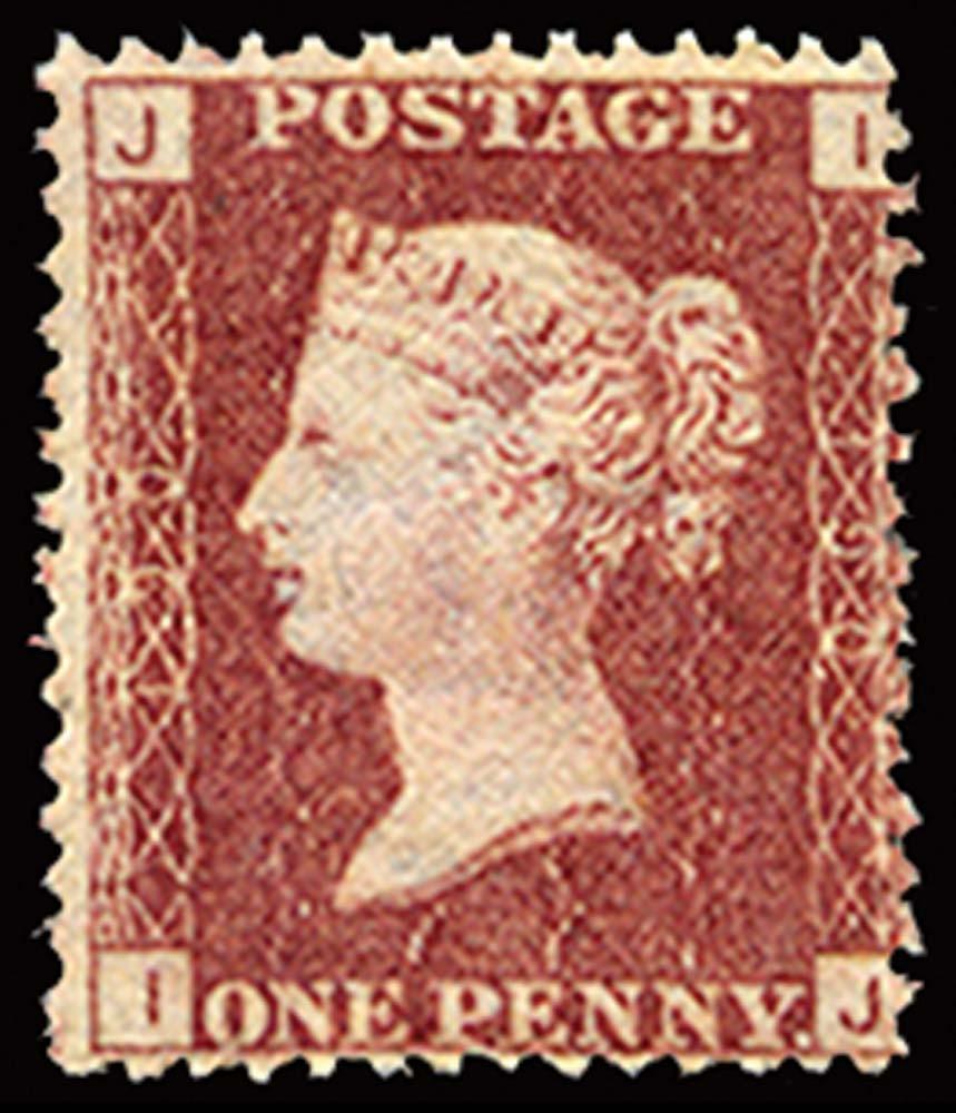GB 1876  SG43 Pl.190 Mint u/m