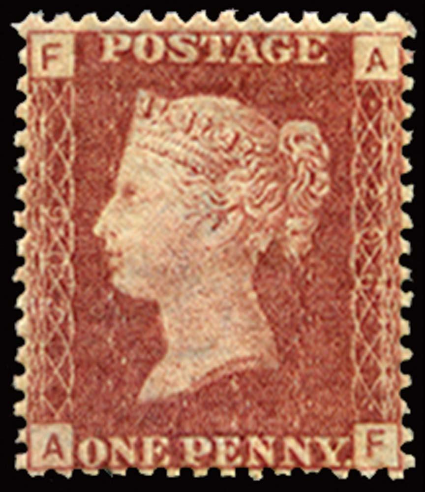 GB 1877  SG43 Pl.206 Mint u/m