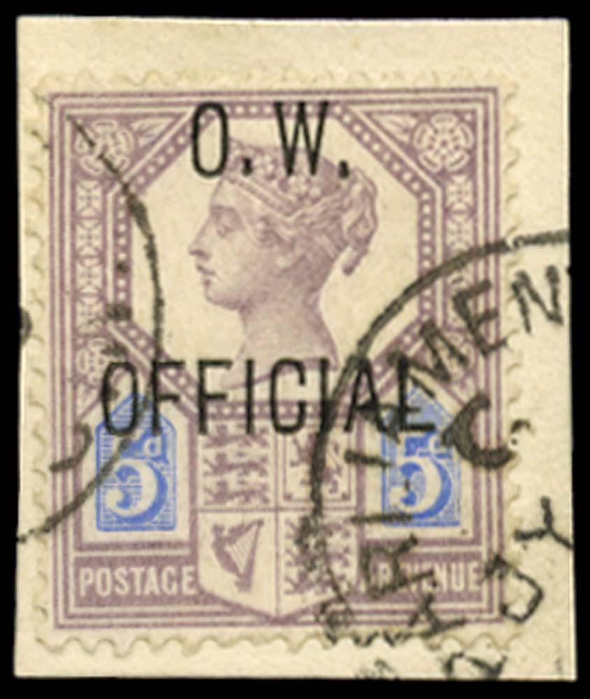 GB 1902  SGO34 Official