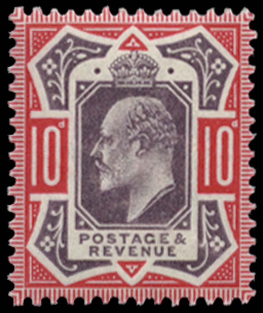 GB 1902  SG254var Mint unmounted o.g.