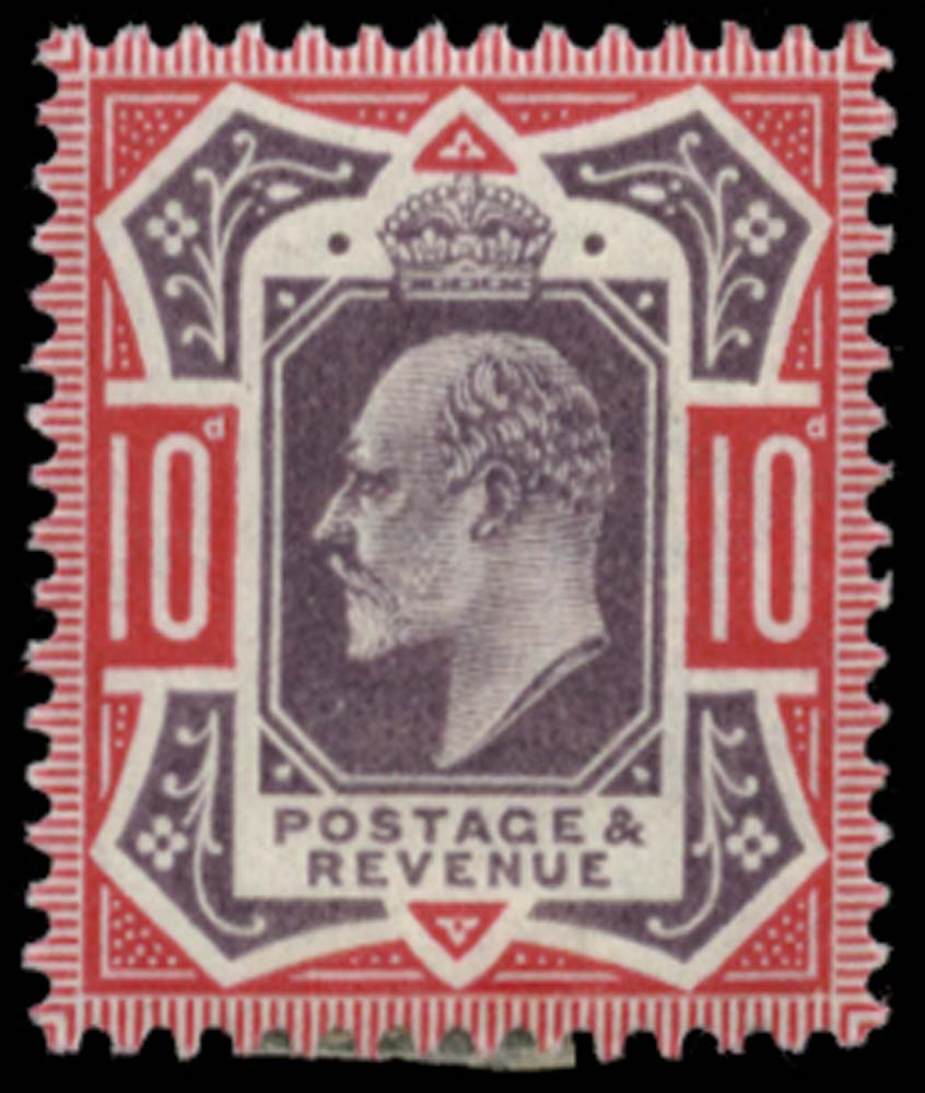 GB 1902  SG254var Mint unused o.g.