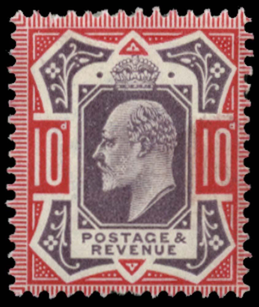 GB 1902  SG254var Mint unused o.g.