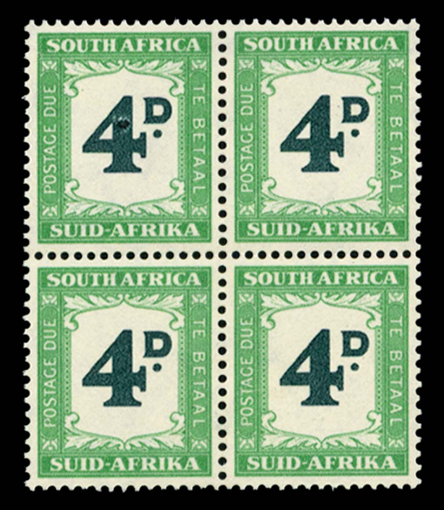 SOUTH AFRICA 1950  SGD42/a Postage Due