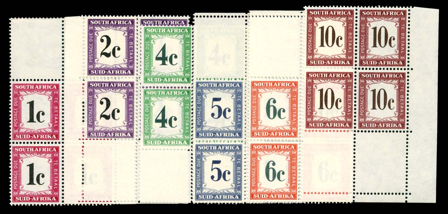 SOUTH AFRICA 1961  SGD45/50 Postage Due