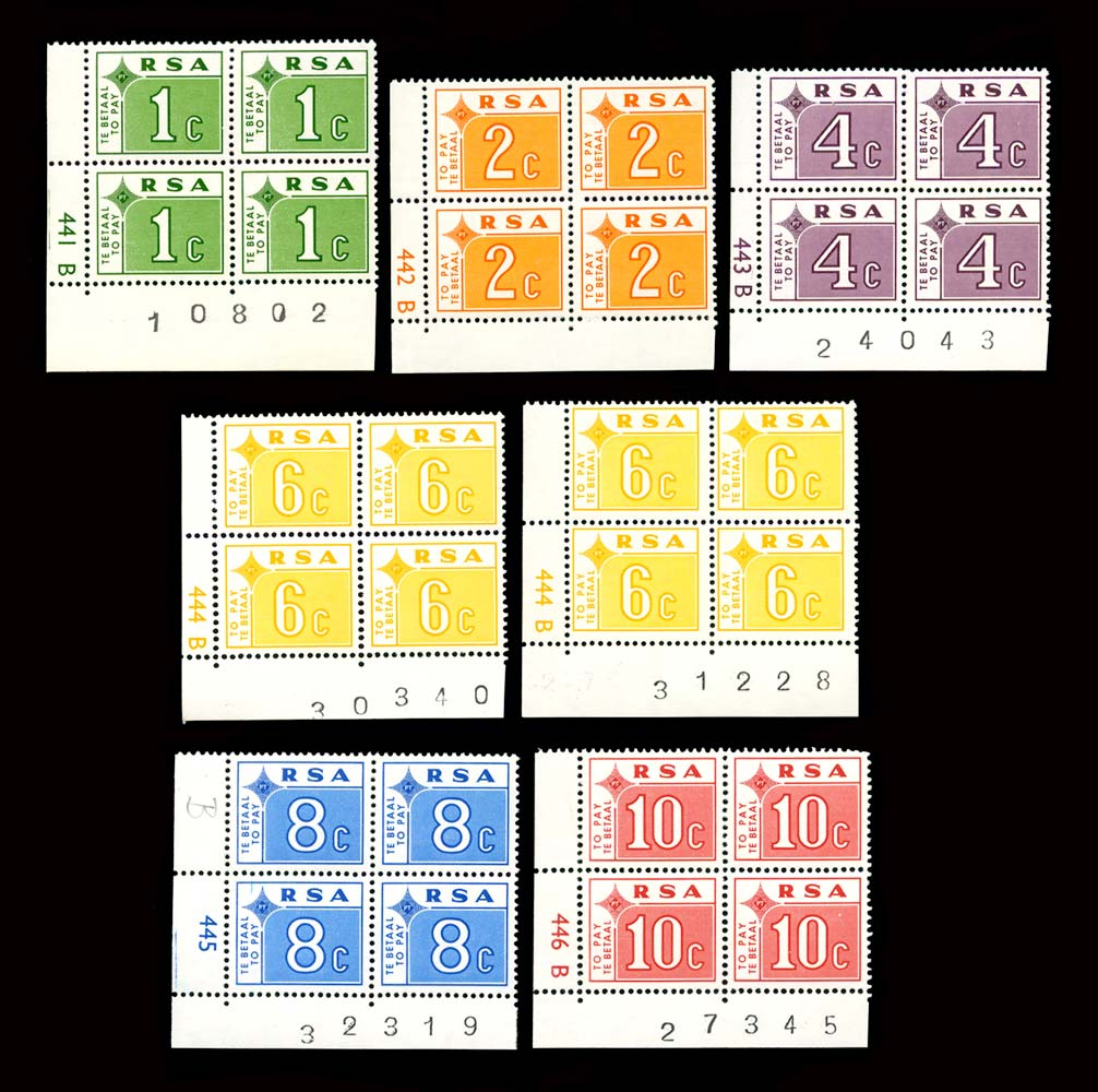 SOUTH AFRICA 1972  SGD75/80 Mint