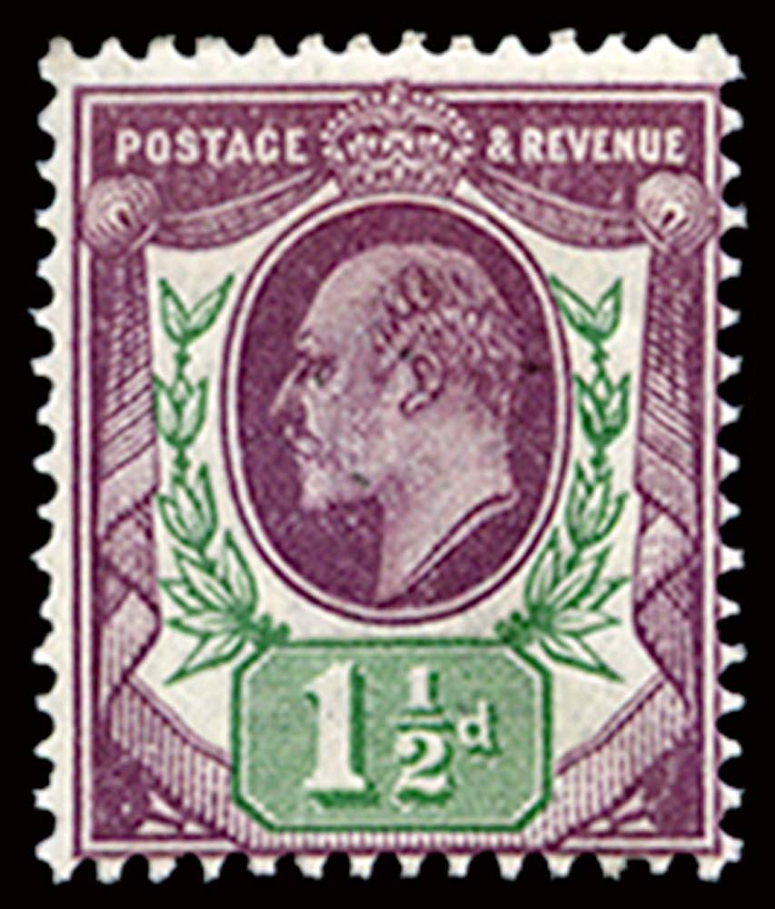 GB 1912  SG289 Mint unused o.g.