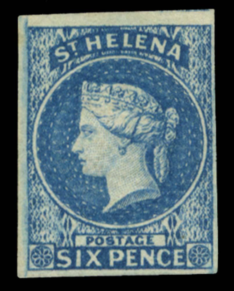 ST HELENA 1856  SG1 Mint