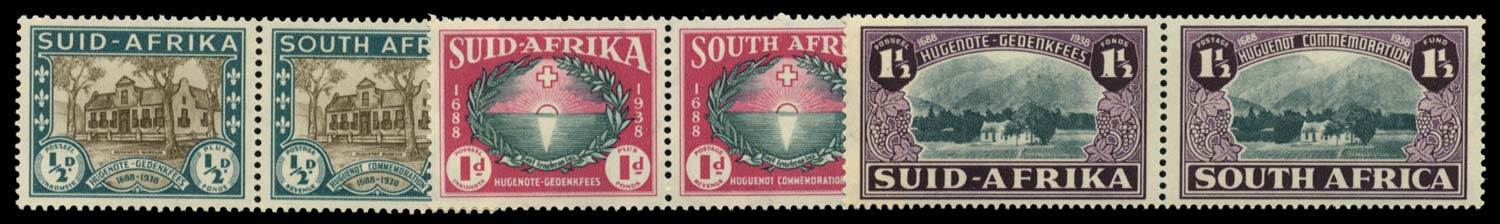 SOUTH AFRICA 1939  SG82/4 Mint