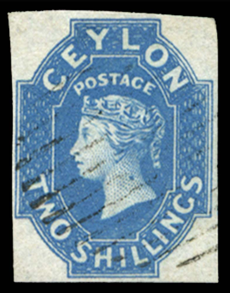 CEYLON 1857  SG12 Used
