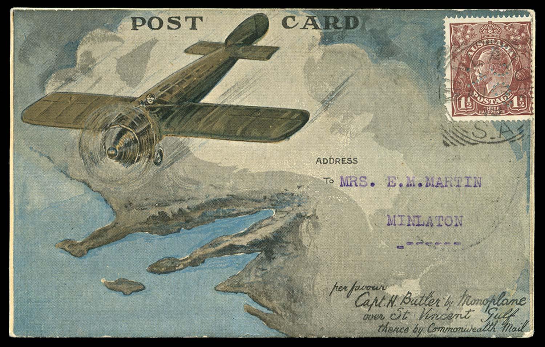 AUSTRALIA 1919  SG59 Cover