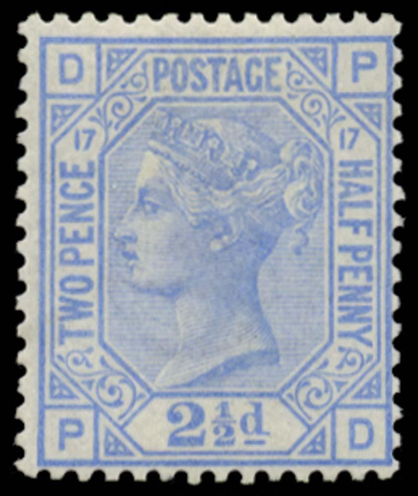 GB 1880  SG142 Pl.17 Mint