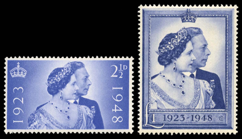 GB 1948  SG493/4 Mint