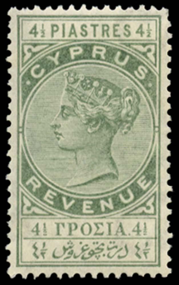 CYPRUS 1881 Revenue