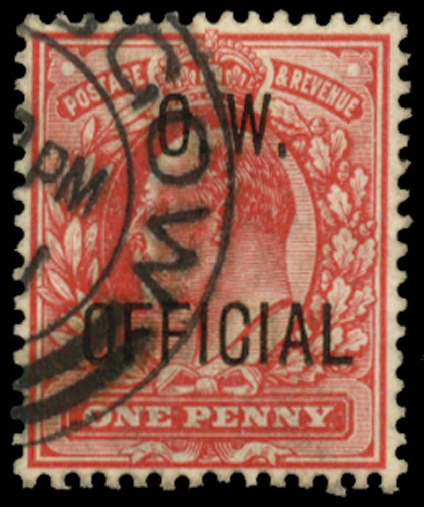 GB 1902  SGO37 Official